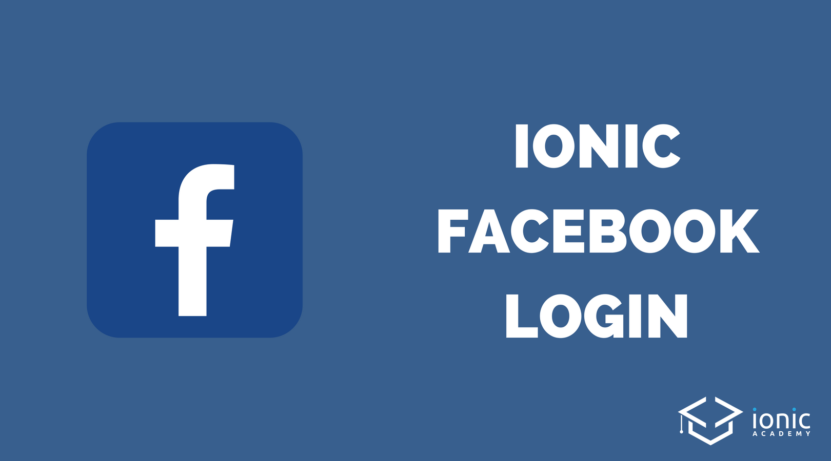 ionic facebook login and user profile data ionic academy. Black Bedroom Furniture Sets. Home Design Ideas